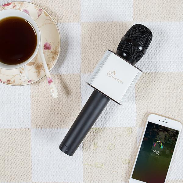 ไมค์คาราโอเกะ บลูทูธ ไร้สาย Karaoke Bluetooth Microphone รุ่น Q9 -2