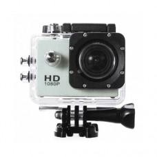 กล้องกันน้ำ Action CamCorder FHD 1080P No WiFi สีเงิน