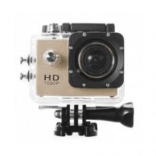 กล้องกันน้ำ Action CamCorder FHD 1080P No WiFi สีทอง