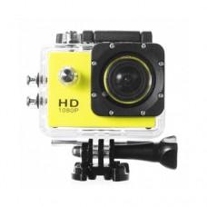 กล้องกันน้ำ Action CamCorder Full HD 1080P WiFi สีเหลือง