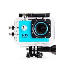 กล้องกันน้ำ Action CamCorder FHD 1080P No WiFi สีฟ้า