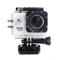 กล้องกันน้ำ Action CamCorder FHD 1080P No WiFi สีขาว