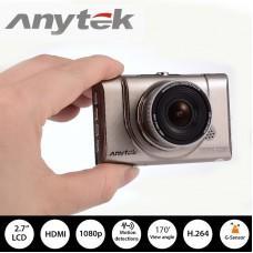 Anytek กล้องติดรถยนต์ 1080P WDR รุ่น A100+