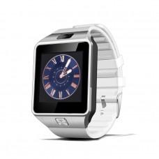 Smart Watch Phone รุ่น DZ09 กล้องนาฬิกาบูลทูธ ใส่ซิมได้ สีขาว