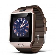Smart Watch Phone รุ่น DZ09 กล้องนาฬิกาบูลทูธ ใส่ซิมได้ สีทอง