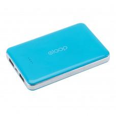 แบตเตอรี่สำรอง Eloop (10000 mAh) รุ่น E9 สีฟ้า