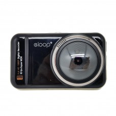 Eloop กล้องติดรถยนต์ HD DVR รุ่น R1 (สีดำ)