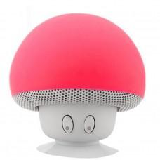 ลำโพงเห็ดบลูทูธ รุ่น BT280 Mushroom Bluetooth Speaker สีแดง