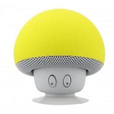 ลำโพงเห็ดบลูทูธ รุ่น BT280 Mushroom Bluetooth Speaker สีเหลือง
