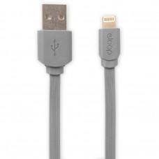 Eloop สายชาร์จ Lightning USB Data Cable for i5/i6/i6s/iPad (สีเทา)