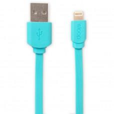 Eloop สายชาร์จ Lightning USB Data Cable for i5/i6/i6s/iPad (สีฟ้า)