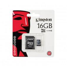 Kingston เมมโมรี่การ์ด Micro SDHC 16 GB Class 4 ประกัน Synex