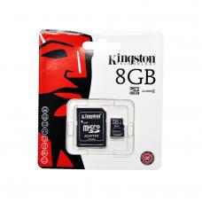 Kingston เมมโมรี่การ์ด Micro SDHC 8 GB Class 4 ประกัน Synex