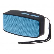 ลำโพงบลูทูธ Bluetooth Speaker ฟัง MP3/วิทยุ รุ่น N10U สีฟ้า