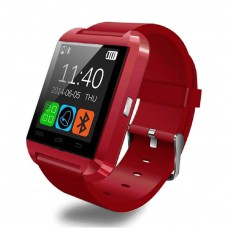 Smart Watch Bluetooth รุ่น U8 (สีแดง)