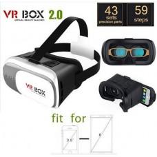 แว่นตาสามมิติ VR Box 2.0 VR Glasses Headset สำหรับสมาร์ทโฟน