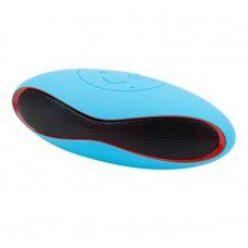 ลำโพงบลูทูธ Bluetooth Speaker Mini X6U สีฟ้า