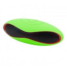 ลำโพงบลูทูธ Bluetooth Speaker Mini X6U สีเขียว